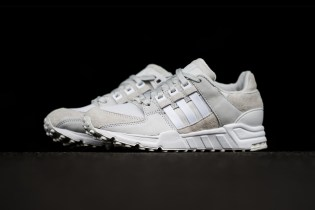 "The adidas Originals EQT Support '93 Drops in ""Vintage White"""