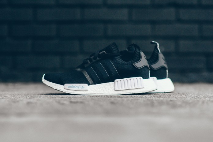 Cheap Adidas NMD R1 Black Boost Sale Outlet 2017