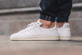 adidas's Newest Stan Smith Model Is Made From a Single Piece of Leather