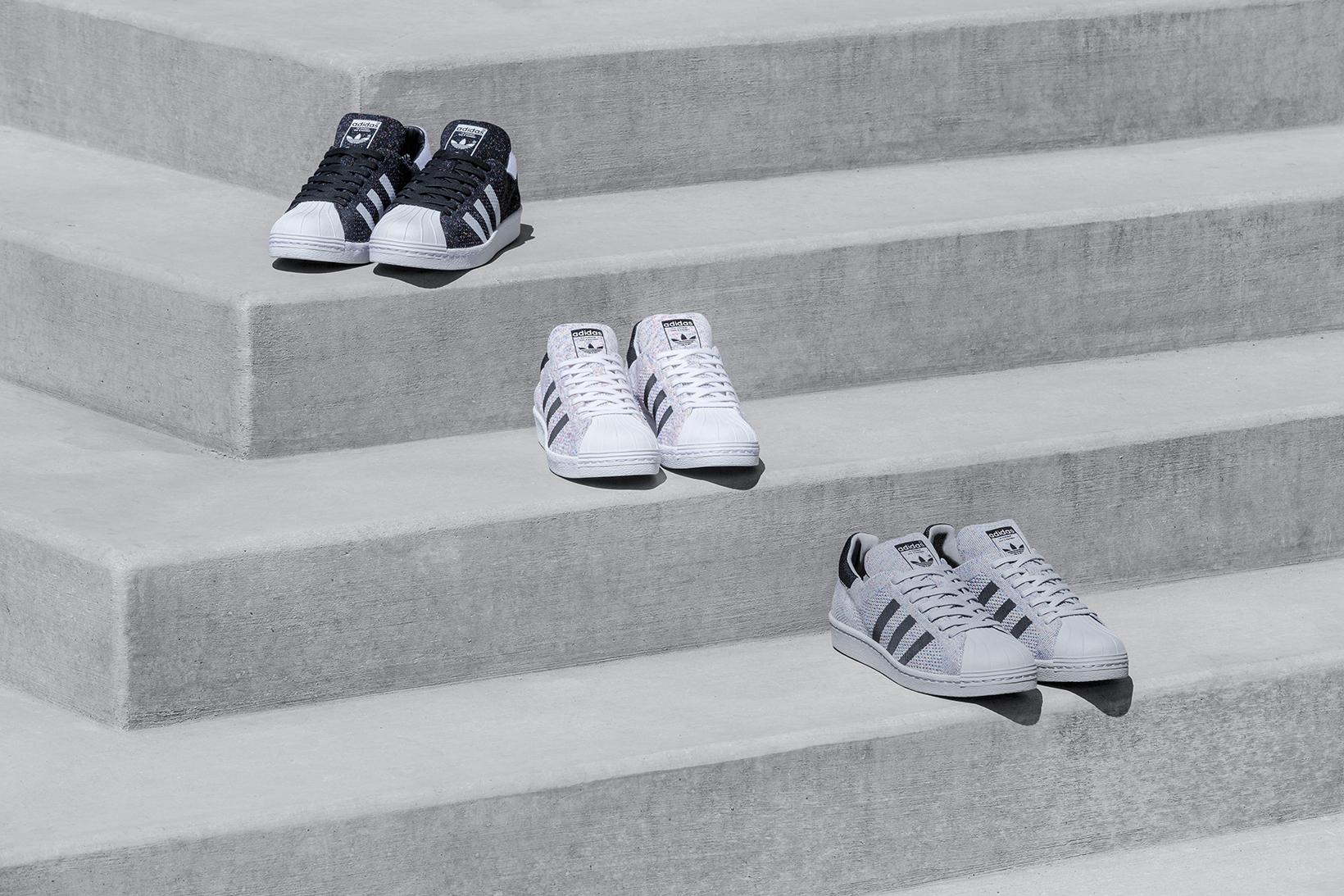 adidas Originals Introduces a Full Multicolor Pack of Superstar 80s Primeknits