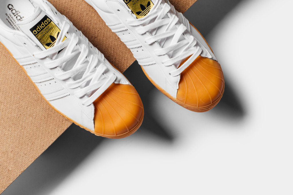 adidas original superstar 80s dlx orange