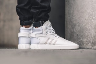 The adidas Tubular Invader Goes All-White