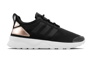 The adidas ZX Flux ADV Verve W Reappears in Core Black/Copper Metallic