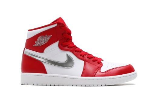 """Jordan Brand Drops a Clean """"Gym Red"""" Air Jordan 1"""