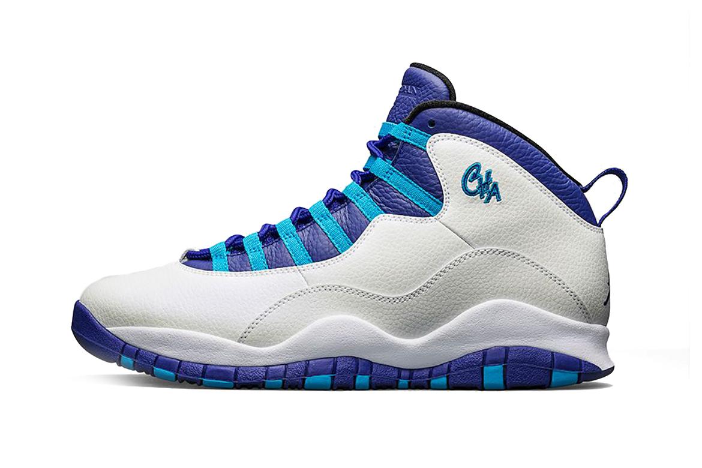 """Air Jordan 10 """"City Pack: Charlotte"""""""