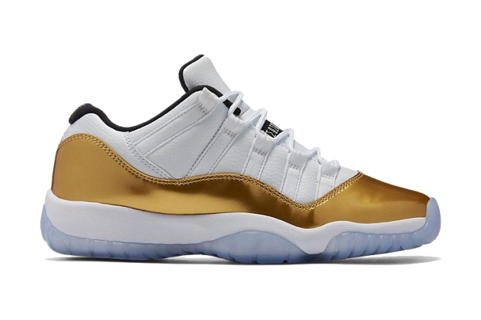 "Air Jordan 11 ""Metallic Gold"""