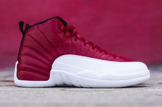 "Air Jordan 12 Is Ready to Drop in a Bold ""Gym Red"" Colorway"