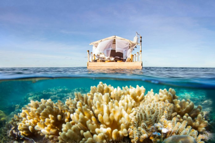 Here's a Rare Chance to Spend a Night on a Floating Home on the Great Barrier Reef