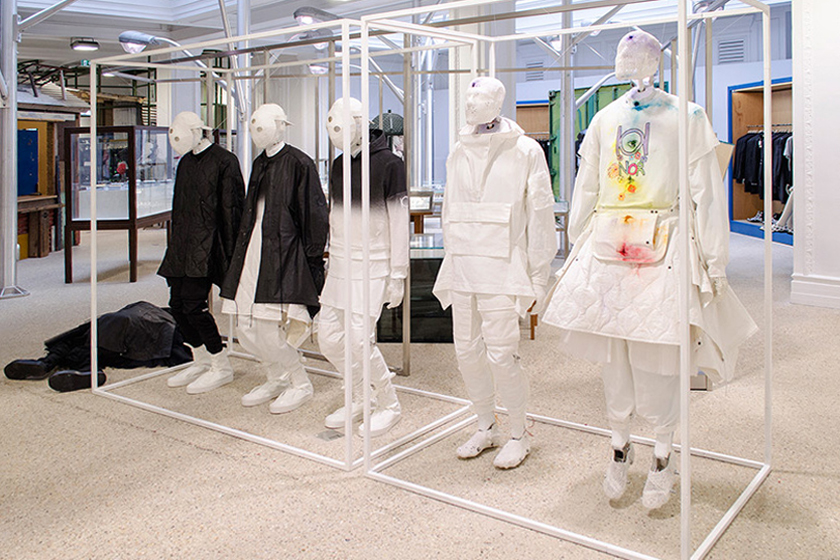 "Aitor Throup Displays New One-Off Pieces Alongside ""New Object Research"" at Dover Street Market"