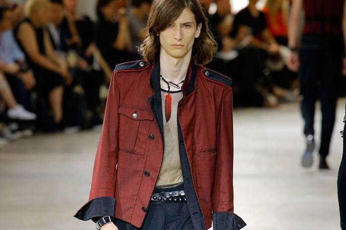 Ann Demeulemeester Samples the Color Red for 2017 Spring/Summer