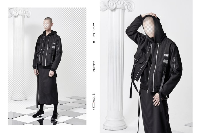 "ANTIMATTER's 2017 Spring/Summer Lookbook ""Uncanny"""