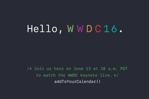 Apple to Live Stream WWDC Keynote on June 13