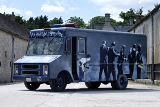 Banksy's Famous 'Graffiti Van' to Auction Later This Month