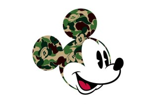 "A Bathing Ape & Disney Announce ""Mickey Mouse"" Collaboration"