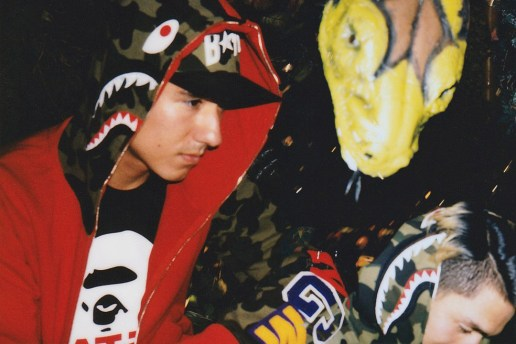 RSVP Gallery's A Bathing Ape Editorial Features Gorillas, Crocodiles & Snakes