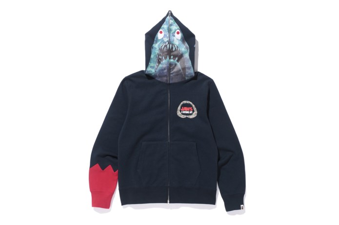 A Bathing Ape Taps 'Jaws' for Its Latest Collaboration