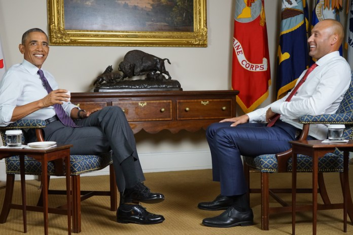President Barack Obama and Derek Jeter Discuss Their Legacy, Leadership and Childhood