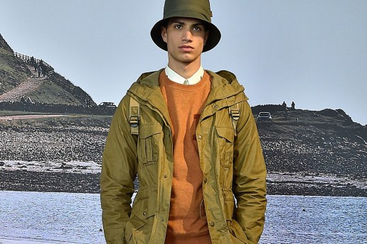 Barbour Boasts Sonic-Welded Fabrics for Its 2017 Spring/Summer Collection