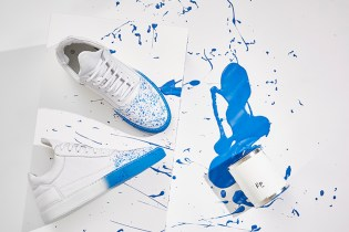 Beaker Gives Filling Pieces' Signature Low-Top the Splatter Treatment