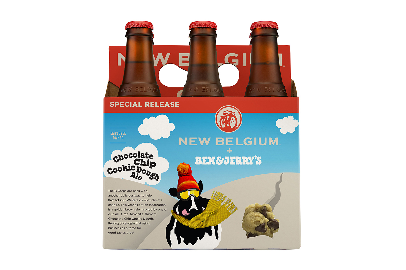 Ben & Jerry's & New Belgium Brewing Are Dropping More Ice Cream-Flavored Beer
