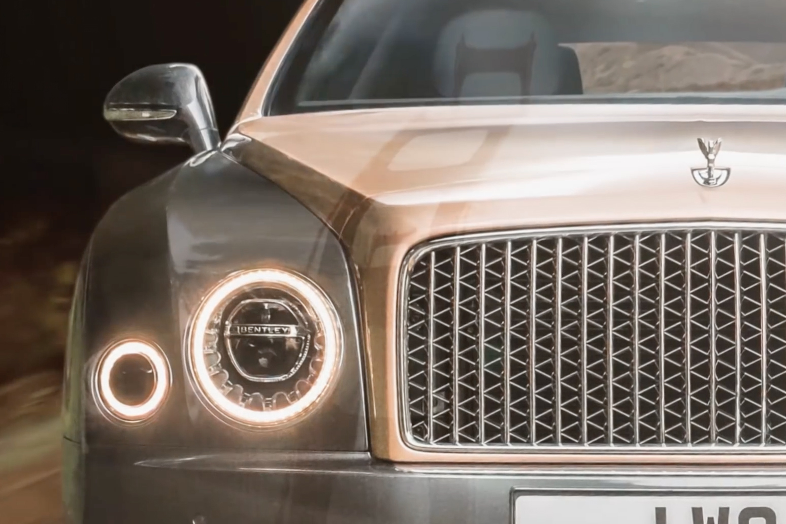 Bentley Made a 53 Billion-Pixel Image to Showcase Its New Mulsanne