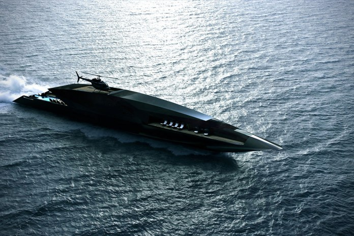Live out Your James Bond Fantasies Aboard the Black Swan Superyacht