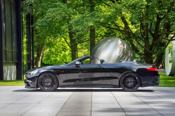 Burn Rubber in the Brabus 850 6.0 Cabrio: The World's Fastest Cabriolet