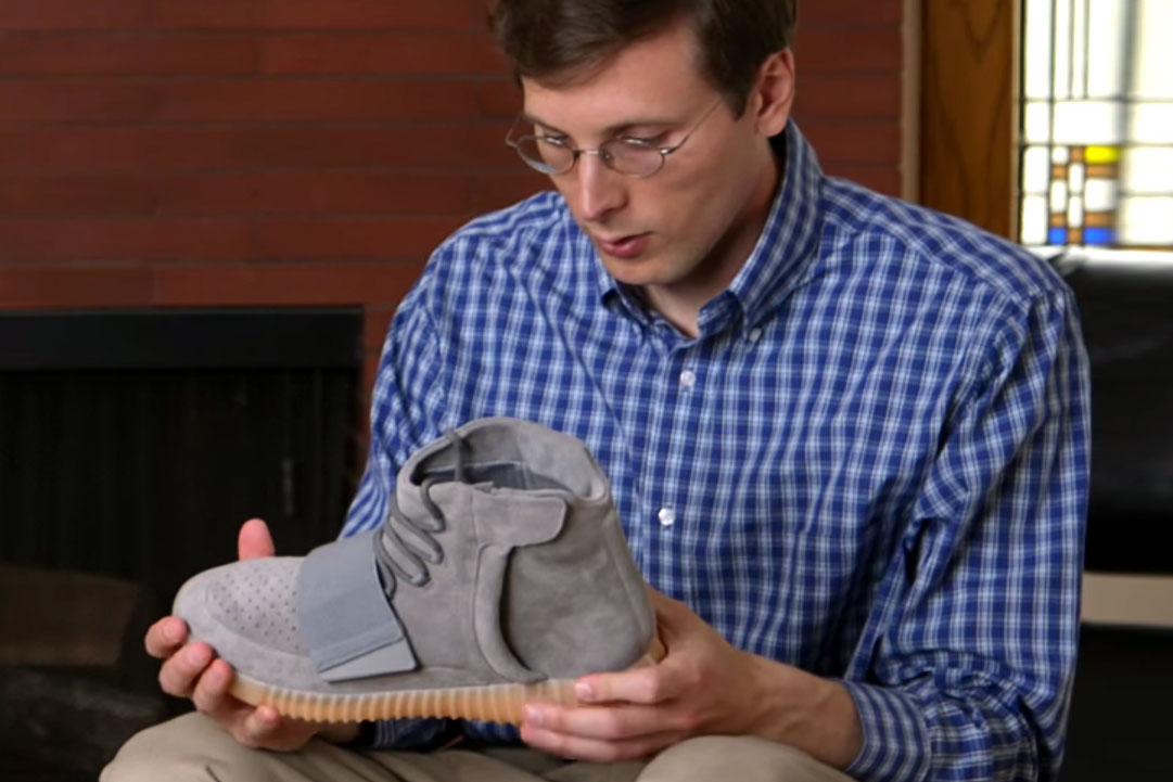 """Brad Hall Reviews the adidas Originals Yeezy Boost 750 """"Light Grey/Gum"""""""