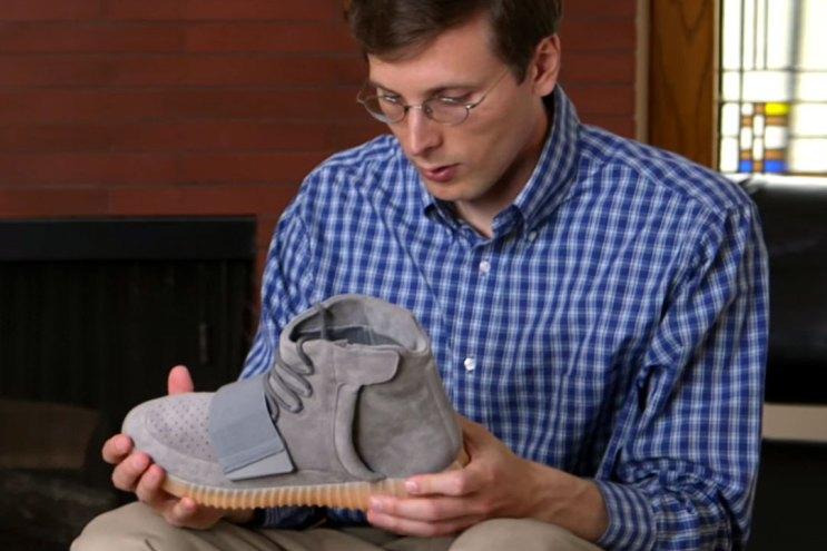 """Brad Hall Reviews the adidas Originals Yeezy Boost 750 """"Light Gray/Gum"""""""