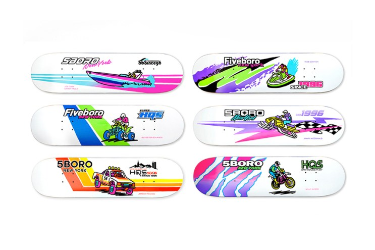 "Brendan x 5BORO Collaborate on ""5B Moto Series"" Decks"