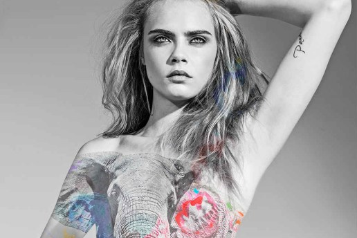 Cara Delevingne Goes Nude for a New Awareness Campaign