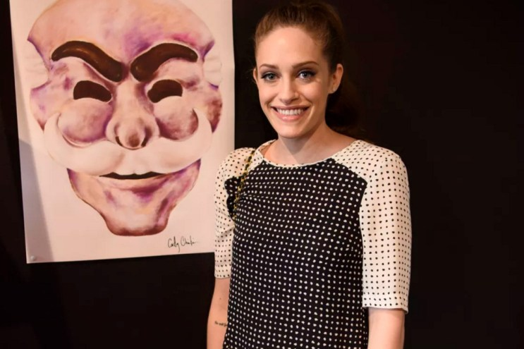 Carly Chaikin Teases 'Mr. Robot' Season 2 at NYC Pop-Up
