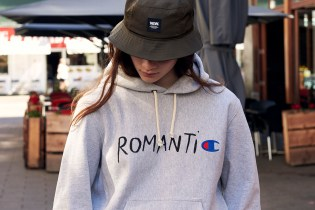 "Wood Wood Taps Champion for ""RomantiC"" Capsule Collection"