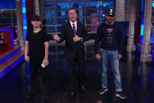 Watch Chance the Rapper & Skrillex Remix Stephen Colbert's Monologue