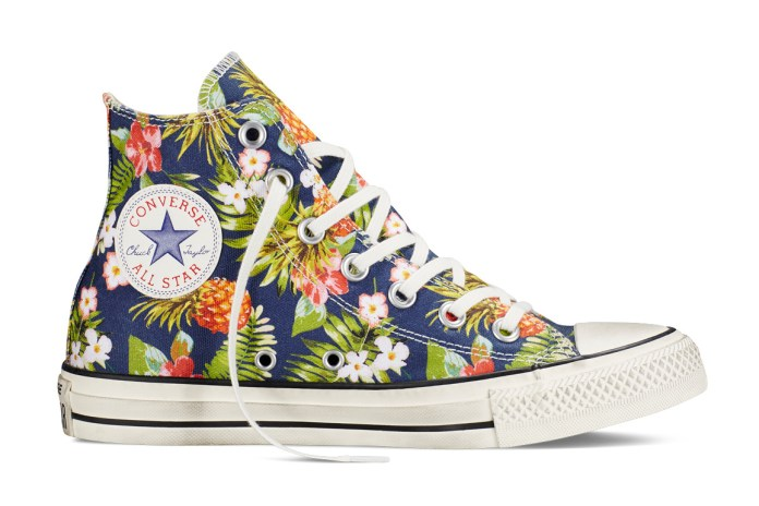 The Chuck Taylor All Star Gets a Floral Makeover for Summer