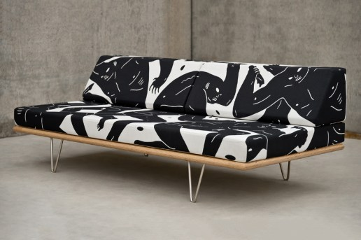 Cleon Peterson Adds Chaos to Modernica's Daybed