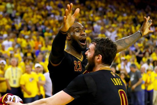 The Cleveland Cavaliers Win Their First NBA Title