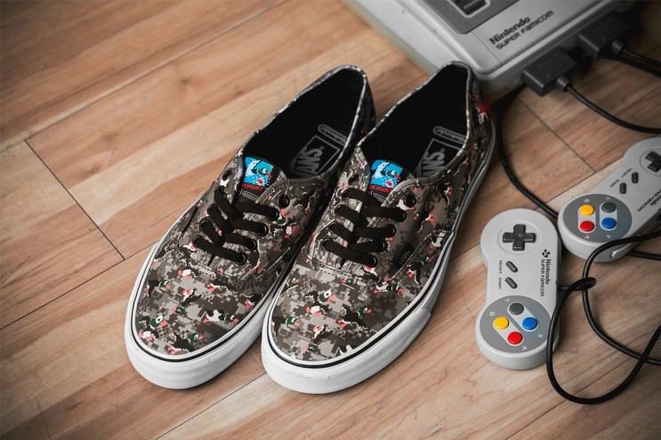 A Closer Look at the Nintendo x Vans Footwear Collection
