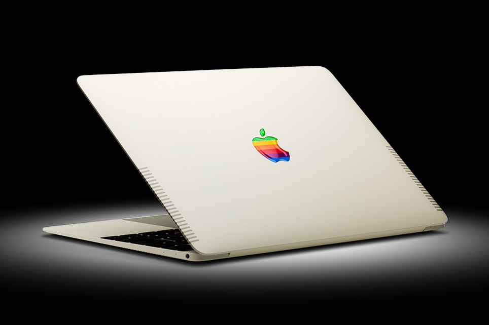 ColorWare Gives the Apple MacBook the Retro Treatment
