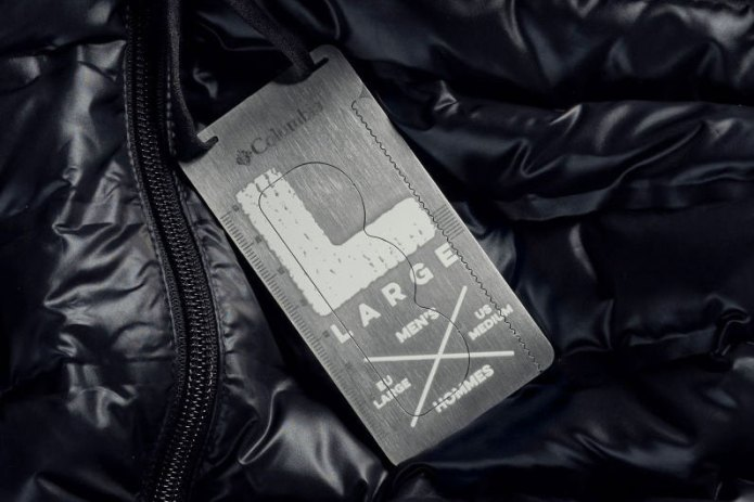 Columbia Replaces Hang Tags With Multi-Tool Survival Tags