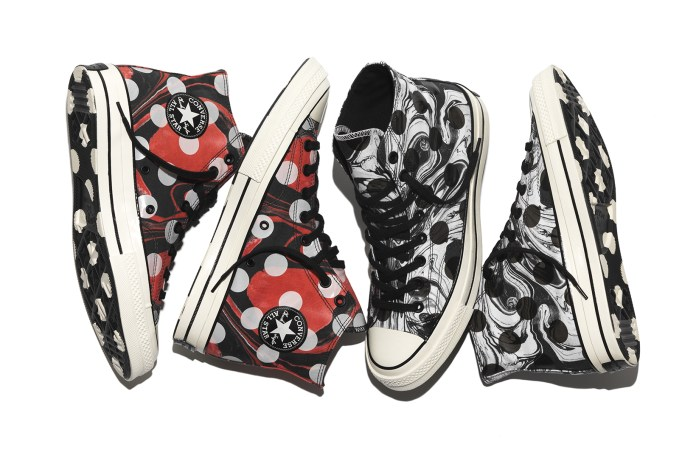 The Converse Chuck Taylor All Star '70 Celebrates the Suminagashi Aesthetic of the '60s & '70s