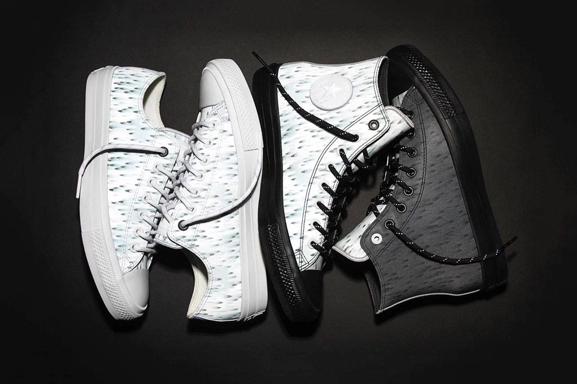 """Futura and Converse Keep Things Reflective With the Chuck II """"Skyfall"""" Pack"""