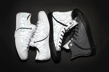 "Futura and Converse Keep Things Reflective With the Chuck II ""Skyfall"" Pack"
