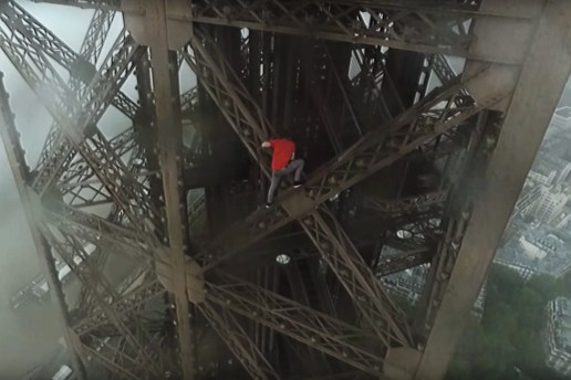 Watch a Pair of Daredevils Climb the Eiffel Tower Without Any Harnesses