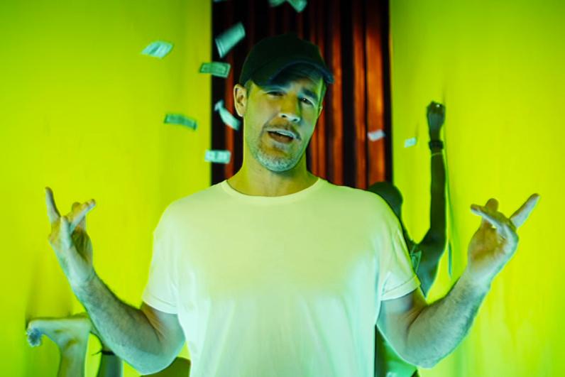 """James Van Der Beek Stars in """"Day In the Life of Diplo"""" Parody Video"""