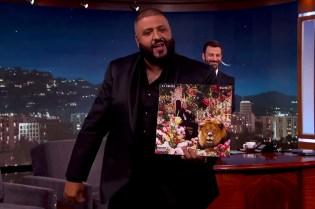 DJ Khaled Unleashes Wild Cover for 'Major Key' Album on 'Jimmy Kimmel Live'