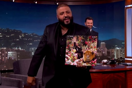 DJ Khaled Unleashes Wild Cover for 'Major Key' Album on 'Jimmy Kimmel Live'