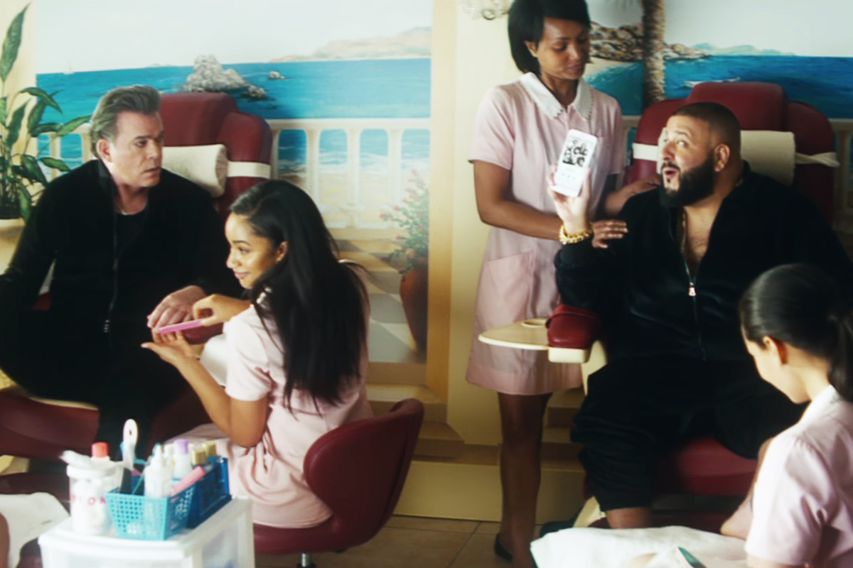 DJ Khaled Accepts Ray Liotta's Challenge in New Apple Music Ad