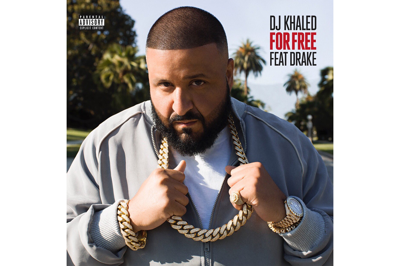 """DJ Khaled Premieres """"For Free"""" Featuring Drake on Apple Music"""
