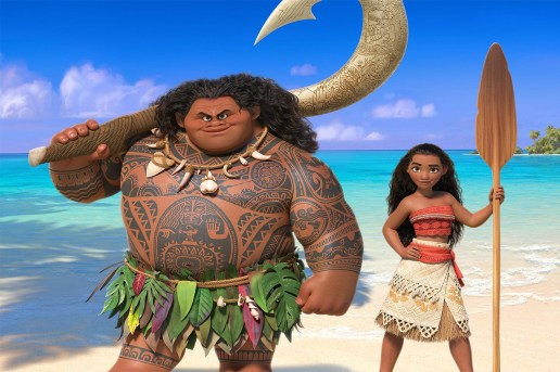 "Dwayne ""The Rock"" Johnson Is an Oceanic Demigod in Disney's 'Moana'"